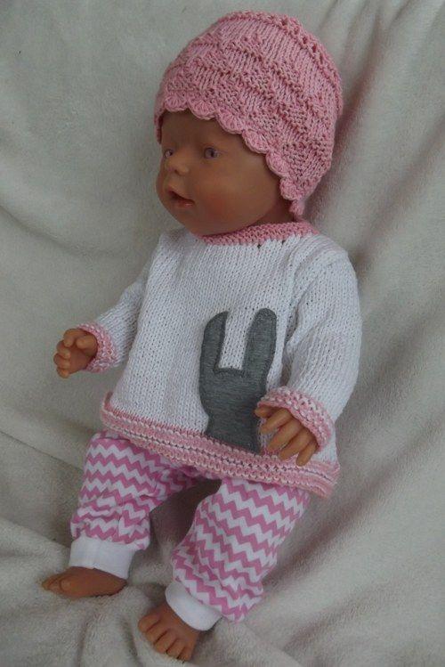 Oblečky pro panenky - králičí zoubek