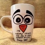 Mug With Cute Design And Costume Inspired Character