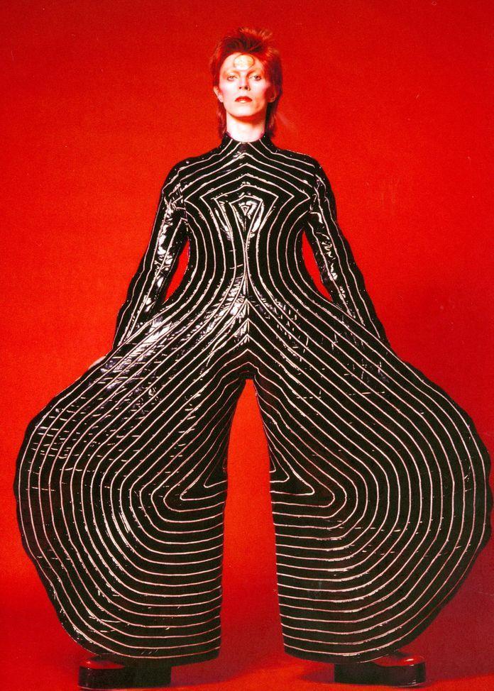 David Bowie costume, 1973, by Kansai Yamamoto © SUKITA/THE DAVID BOWIE ARCHIVE