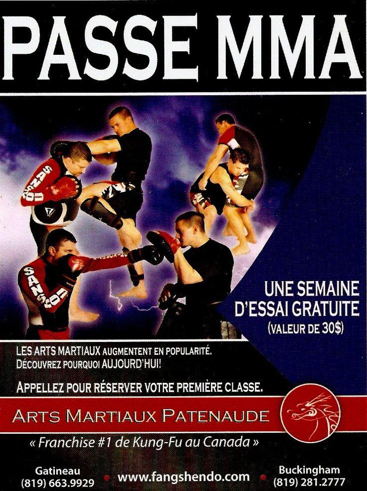 """Notre programme de MMA a l'école de Gatineau, provient des classes que mon instructeur nous donnais séparément des classes de Kung fu dans les années 80 et jusqu'au début des années 90. Nous appelais ça """" les spécial classes"""" et notre fondateur lui des classes non-classique puisque le terme MMA( mixtes martial arts) n'existais pas …"""
