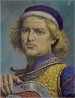 Leszek the White (c. 1186-1227), the prince of Sandomierz, and the son of Casimir the Just. After his father's death, Leszek claimed the senior province of Cracow, having as his main rival at first Mieszko the Old, Casimir's brother. He eventually ascended the throne in 1202.  He died in tragic circumstances at Gasawa in Pomerania, where he held a meeting with Ladislaus Spindleshanks and Henry the Bearded, when they were unexpectedly attacked by Swietopelk, prince of Gdansk Pomerania
