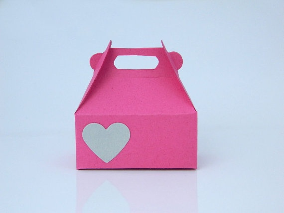 Jewelry Gift Wrap Box  Box for Rings  Gift Bag Heart by sobresitos, $1.85