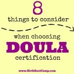 8 Things to Consider When Choosing Doula Certification