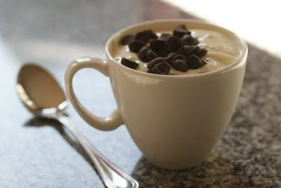 Cheesecake In A Mug.  Love these in-a-mug recipes.  Prevents huge indulgences!