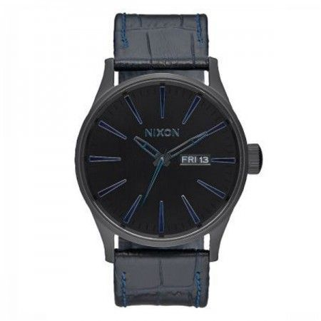 A1052153 Nixon Sentry Leather   Visit our store: www.watchworldindonesia.com