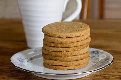 digestive biscuits, aka whole wheat shortbread recipe on Food52.com