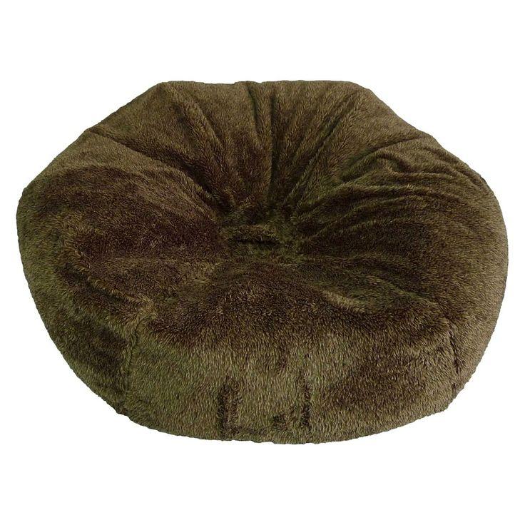 XL Fuzzy Bean Bag Chair