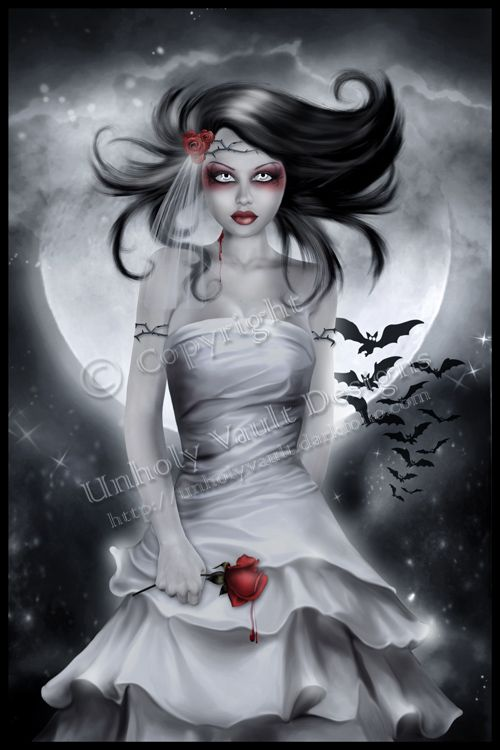 Vampire Bride by UnholyVault.deviantart.com on @deviantART