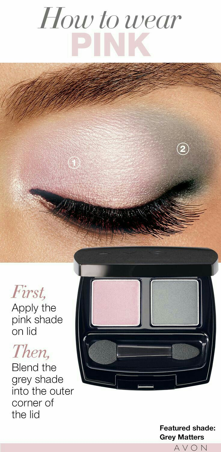 Avon Grey Matters eye shadow. Love this look. #Avon #Bosslife #eyeshadow