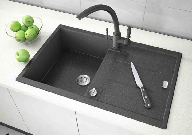 17 best ideas about black kitchen sinks on pinterest kraus kgu 434b universal black onyx undermount double bowl