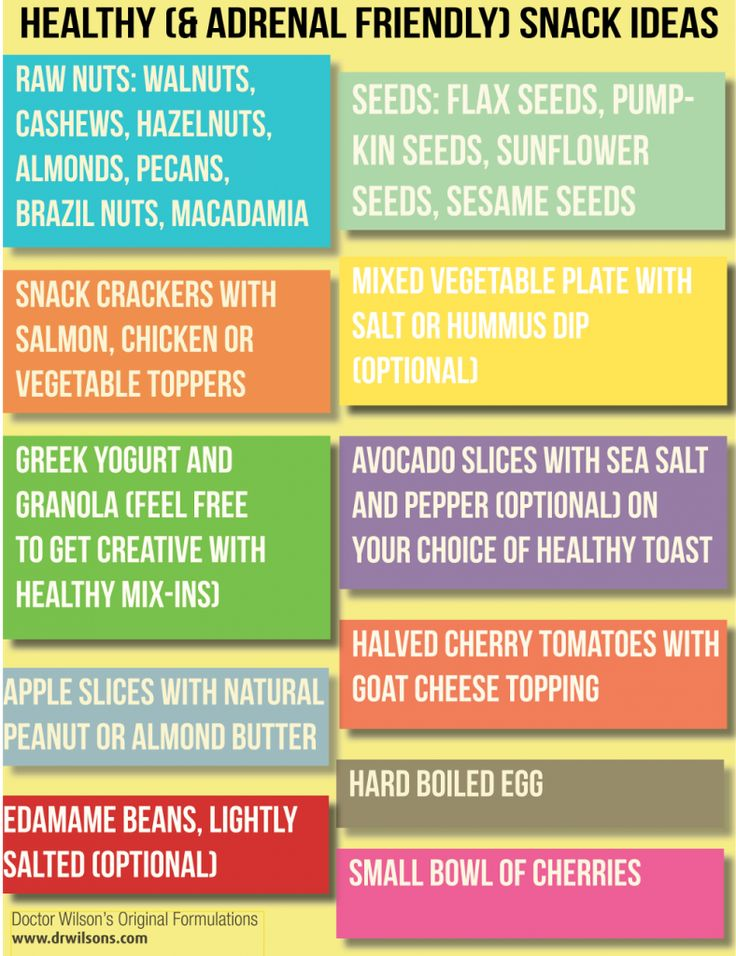 healthy snack ideas that are also adrenal-friendly