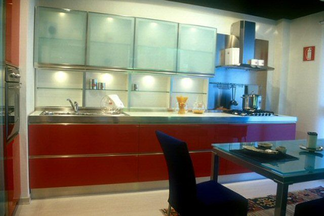 Best Glass Kitchen Cabinet Doors Contemporary Decor 400 x 300