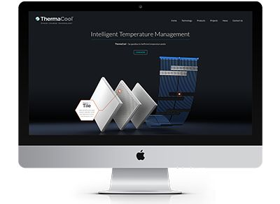 A super, design focused responsive site for ThermaCool. It was important to take apart the technology and demonstrate it as effectively as possible whilst maintaining quick loading times expected across the web #webdesign #website #thermacool #engineering