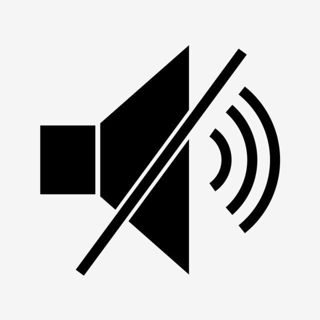 Volume Desligado O Simbolo Icone Preto Fora Som Som Desligado Imagem Png E Vetor Para Download Gratuito In 2021 Glyphs Black Social Media Icons Icon