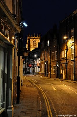 Beverley in Yorkshire, UK,  with Beverley Minster in the background, The Minster was started in 1220 and it took over two hundred years to complete. One of the largest parish churches in the UK and larger than some cathedrals.  Wold Ranger Photography: