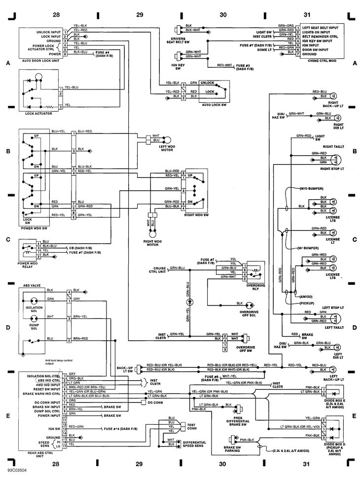 Automotive Wiring Diagram  Isuzu Wiring Diagram For Isuzu