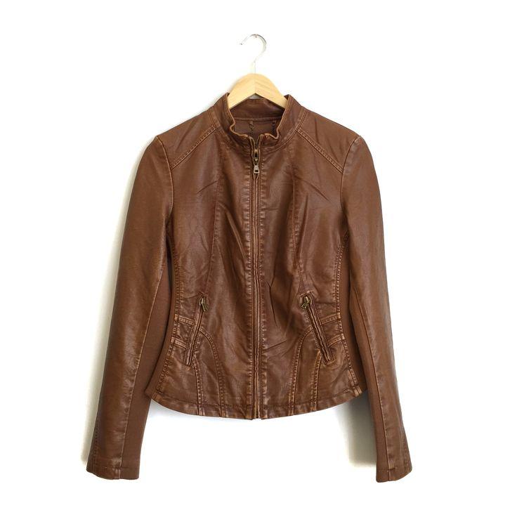 ROOLEE — Tan Leather Jacket