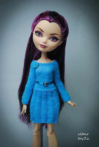 Knitting Patterns For Monster High Dolls : 17 Best images about Ever After High on Pinterest Mila kunas, Custom dolls ...