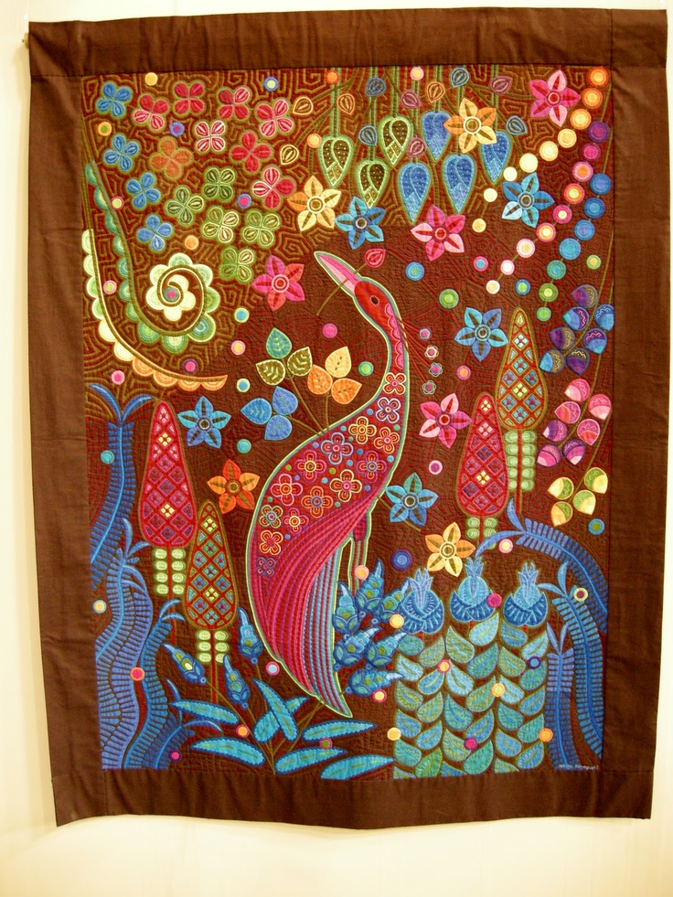 117 best images about Quilting - Molas on Pinterest