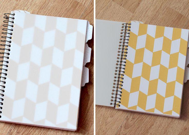 Bullet journal : Comment personnaliser un carnet à spirales ~ Avec printables