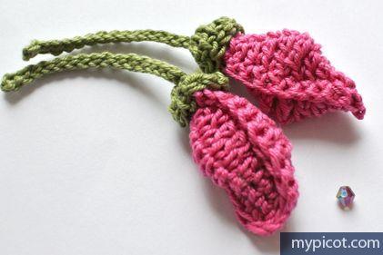 MyPicot   Big Buds, free crochet pattern ༺✿Teresa Restegui http://www.pinterest.com/teretegui/✿༻