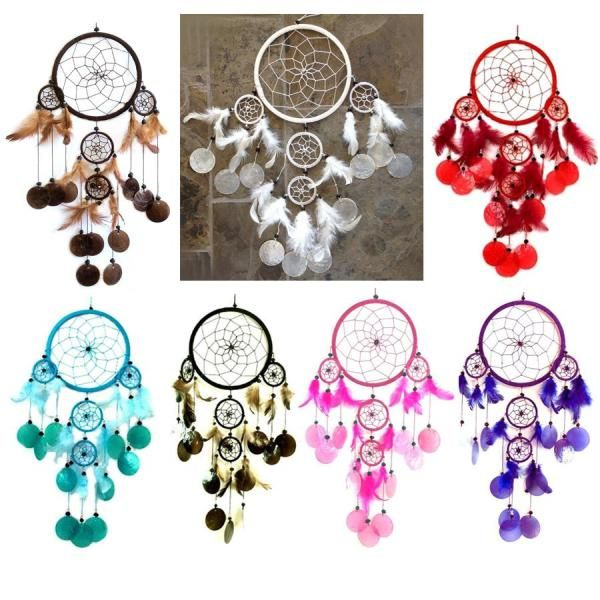 Dream catcher with the soft sound of shell chimes 16.00