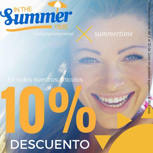 ☀Coaspeco In The Summer Time☀. Este mes de Junio, beneficiate de un 10% de Descuento en todos nuestros productos, aplicando el codigo promocional: SUMMERTIME. * Promoción válida del 1 al 30 de Junio, en pedidos superirores a 30 euros.