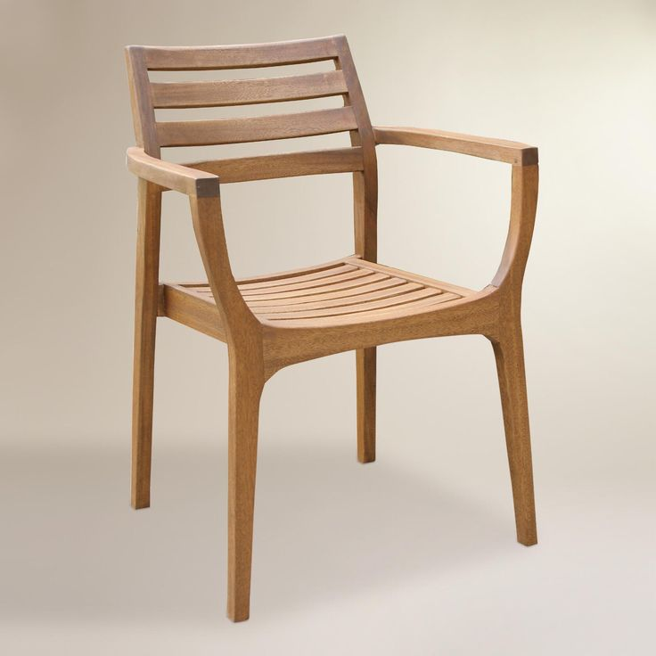 Our Solid Eucalyptus Hardwood Chairs Stack For Compact Storage. Featuring  An Extra Wide Seat