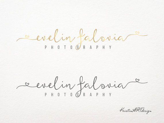 Signature logo Handwritten watermark by KristinARTdesign on Etsy