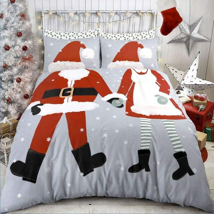 Pieridae Dress Up Christmas Double Duvet Cover Quilt Cover Luxury Bedding Set £16.95 Free UK Delivery