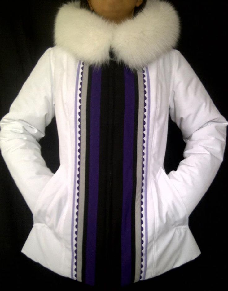 Pretty! Inuit made women's parka by Wini Nungak
