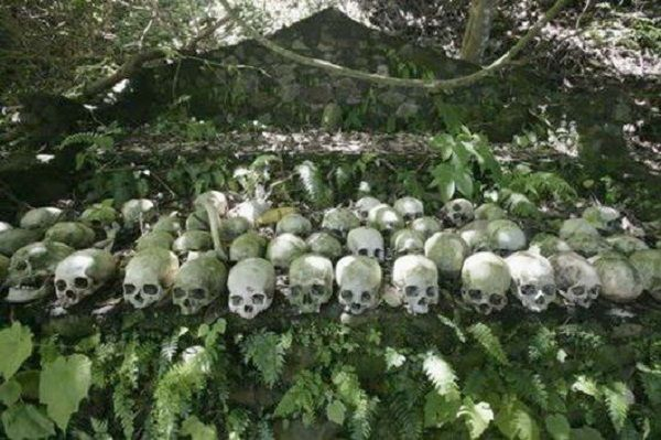 Trunyan.... A Cemetery Of Unburied Corps At Lake Batur.