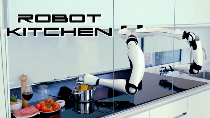 Behold The Future...THE WORLD'S FIRST ROBOTIC KITCHEN Moley has created the world's first robotic kitchen. Featuring an advanced, fully functional robot inte...