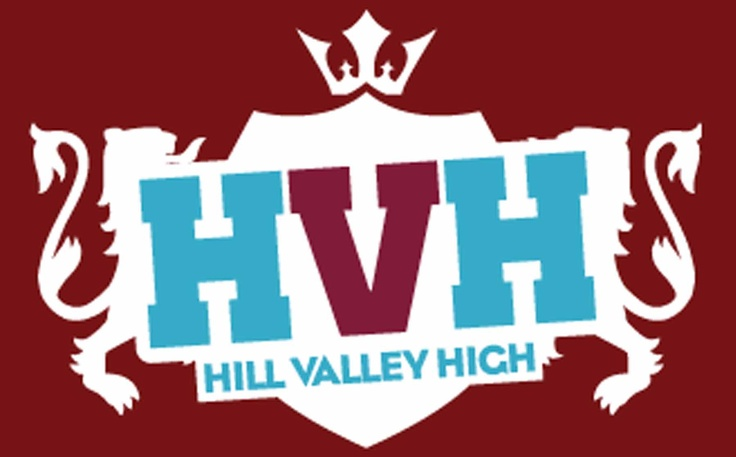 Hill Valley High branding by Big Eye Deers #soundcloudBig Eye