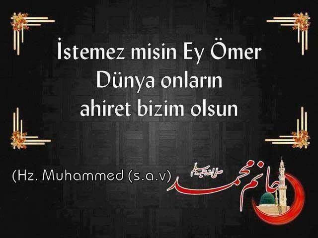 Gönül Tahtımızın Sultanı Peygamber Efendimizin Hayatı.: İstemez misin Ey Ömer....
