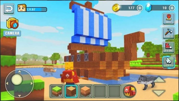World Building Craft Building Craft Games For Kids Android