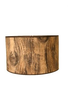 Hanglamp Houtprint