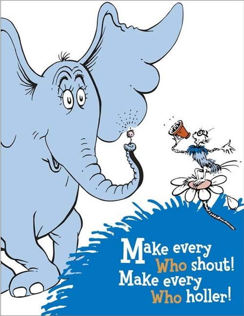21 best fairytale characters images on pinterest for Dr seuss coloring pages horton hears a who