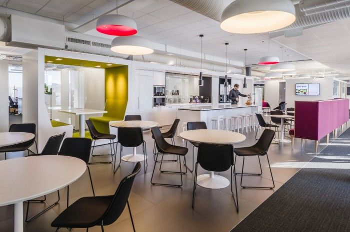 84 Best Commercial Office Break Room Designs Images On
