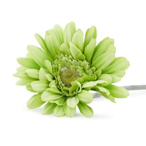 Decoratiuni - Fir gerbera artificiala, verde la numai 4.00 RON