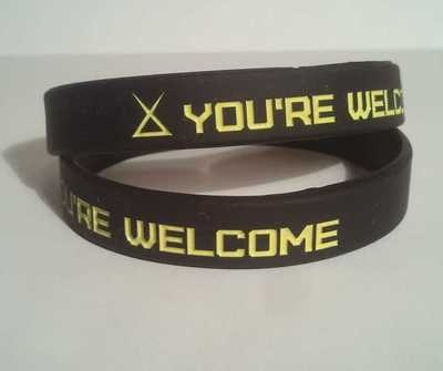 You're Welcome Wristband Kobe System