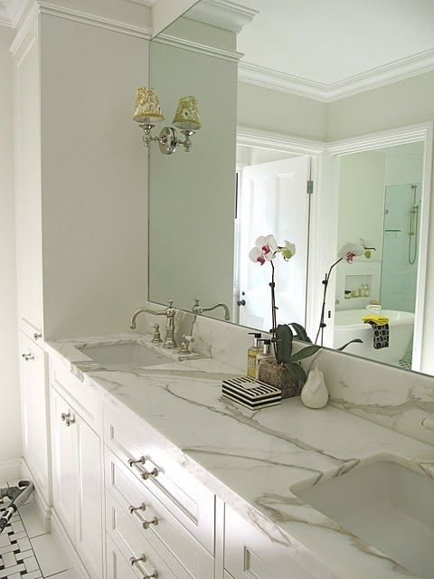 Very similar to my new master bath bathkat pinterest for Master bathroom countertops