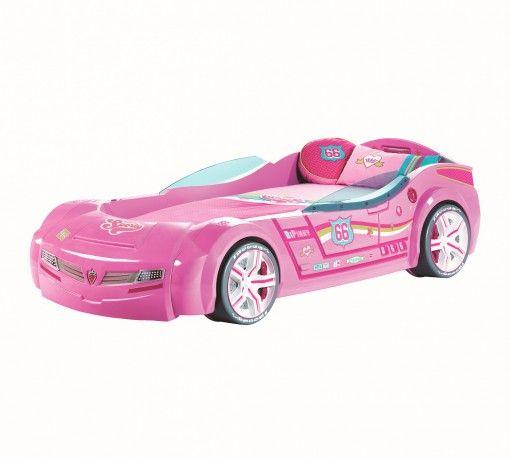Biturbo Pink Autóságy #gyerekbútor #bútor #desing #ifjúságibútor #cilekmagyarország #dekoráció #lakberendezés #termék #autóságy #forma1 #ágy #gyerekágy