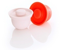 Ideal for baby food and toddler snacks.  You will love using these AdoraBOWLS in all stages of your baby's meal preparation.  Safe in the: fridge/freezer, microwave/oven (up to 240C), dishwasher. www.weanmeister.com.au