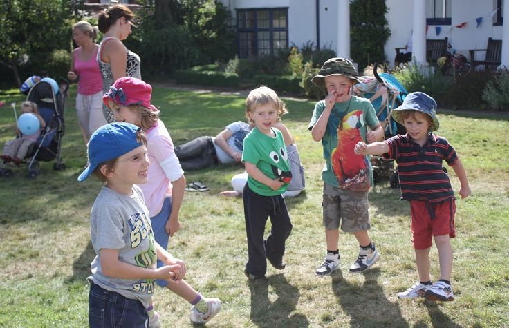 Party games in the sunshine 22/08/13