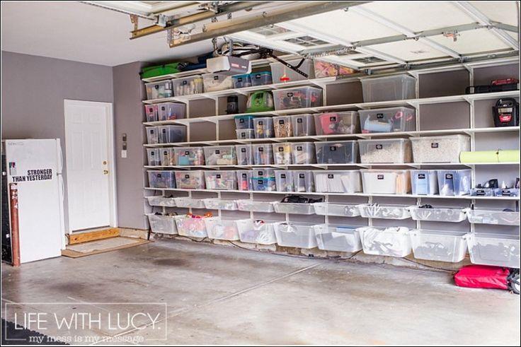 lifewithlucyblog.com | garage makeover | ikea algot