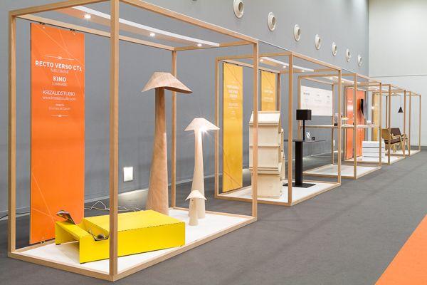 """Exibition scenography """"Design Réservoir"""" by Twodesigners, via Behance #designreservoir #scenography"""