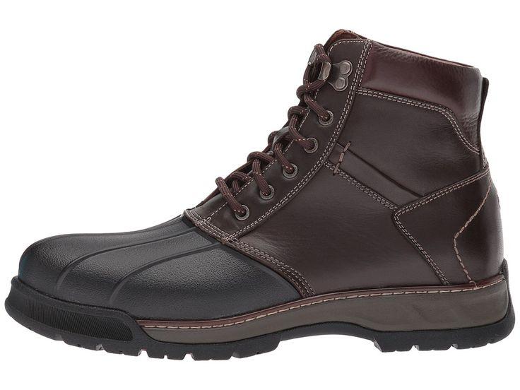 Johnston & Murphy XC4(r) Waterproof Thompson Duck Boot Men's Boots Moss Brown Waterproof Full Grain