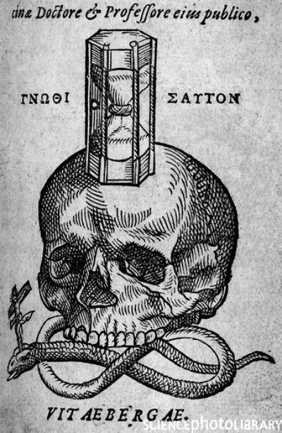 Medieval woodcut vintage illustration