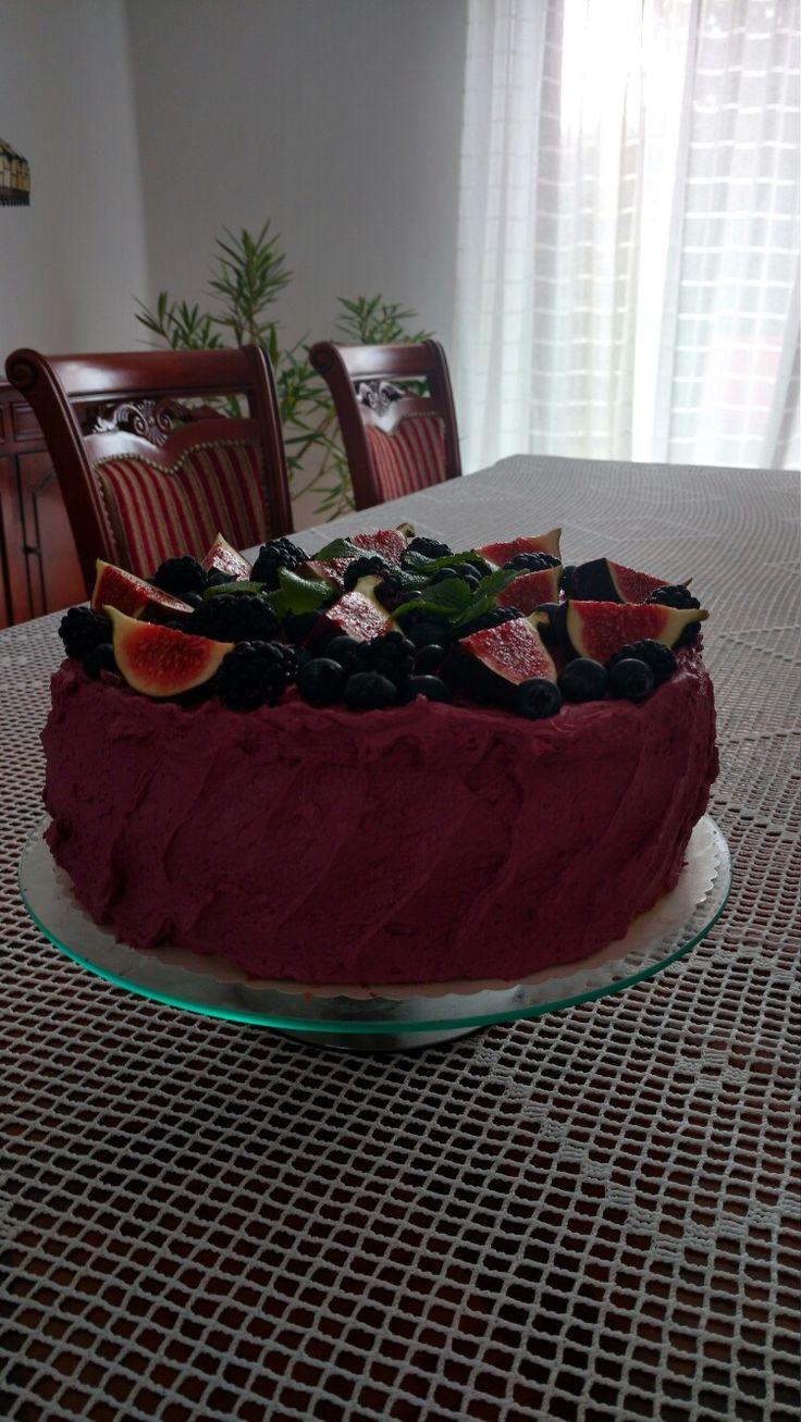 Tort owocowy- autor Słodka Sosnowa
